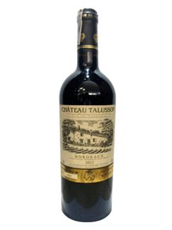 Chateau Talusson Bordeaux